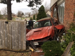 Impaired Driving Charges Laid After Car Hits House