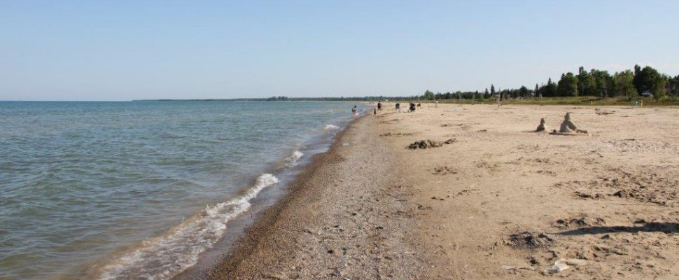 A piece of the Lake Huron shoreline. (Submitted photo)