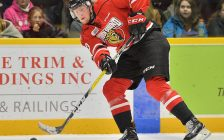 Matt Schmalz of the Owen Sound Attack. Photo by Terry Wilson / OHL Images.