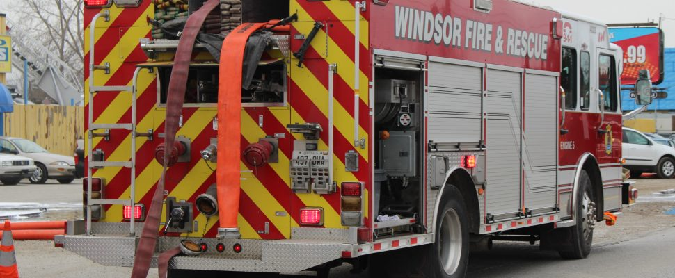 Windsor Fire and Rescue truck (Photo by Maureen Revait)