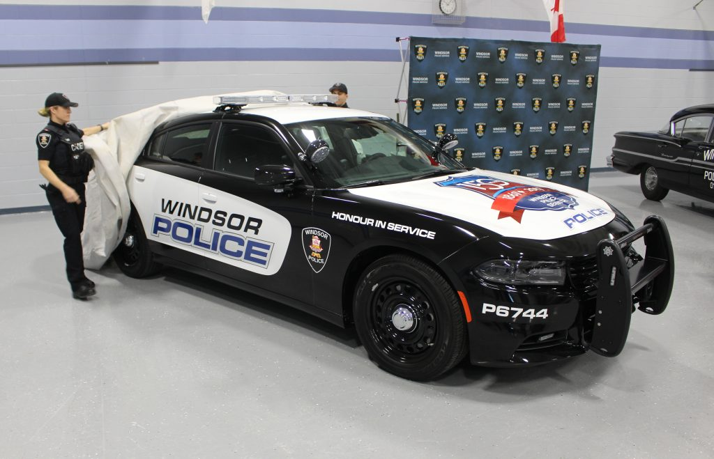Blackburnnews Com New Car Celebrating Windsor Police History