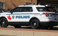 Windsor Police Service SUV (Photo by Maureen Revait)