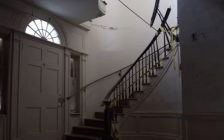 A photo of the inside of the Belle Vue House courtesy of the Amherstburg Belle Vue Conservancy.