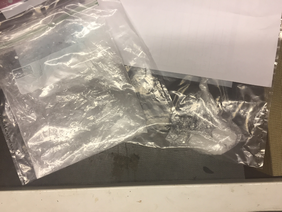 Crystal Meth, Cocaine Found During Traffic Stop