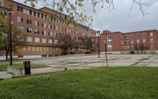 The Former Sarnia General Hospital Site On Mitton St. (Photo By Jake Jeffrey)