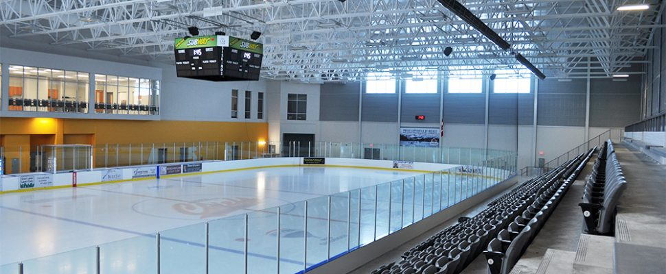 Middlesex Centre Wellness and Recreation Complex in Komoka. (Photo courtesy of http://middlesexcentre.on.ca)
