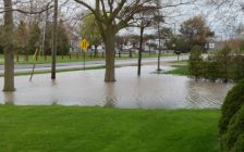 Leamington flooding May 02, 2017. (Photo courtesy of Annie Letkeman)