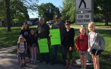 Dresden community fights to have crossing guards near schools. (Photo courtesy of Sarah Cowan Blackburn News Chatham-Kent).