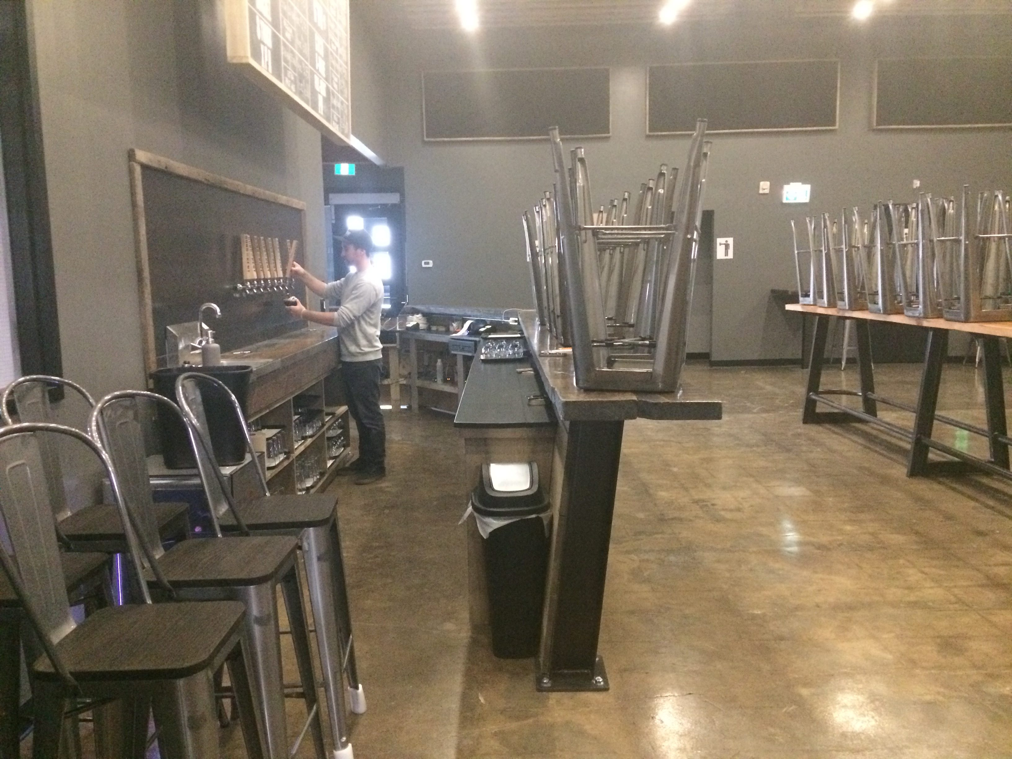 Sons of Kent Brewing Company is set to open June 17th. (Photo by Paul Pedro)