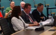 Gordon Orr of Tourism Windsor Essex Pelee Island (centre) presents the agency's 2016 report to Essex County Council in Essex on May 17, 2017 (Photo by Mark Brown/Blackburn News)
