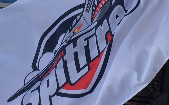 The Windsor Spitfires were greeted by hundreds of fans during the team's Mastercard Memorial Cup championship parade, May 31, 2017. (Photo courtesy of Colin Botten)