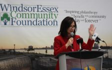 Lisa Kolody, executive director of the Windsor Essex Community Foundation, May 2, 2017. (Photo by Maureen Revait)