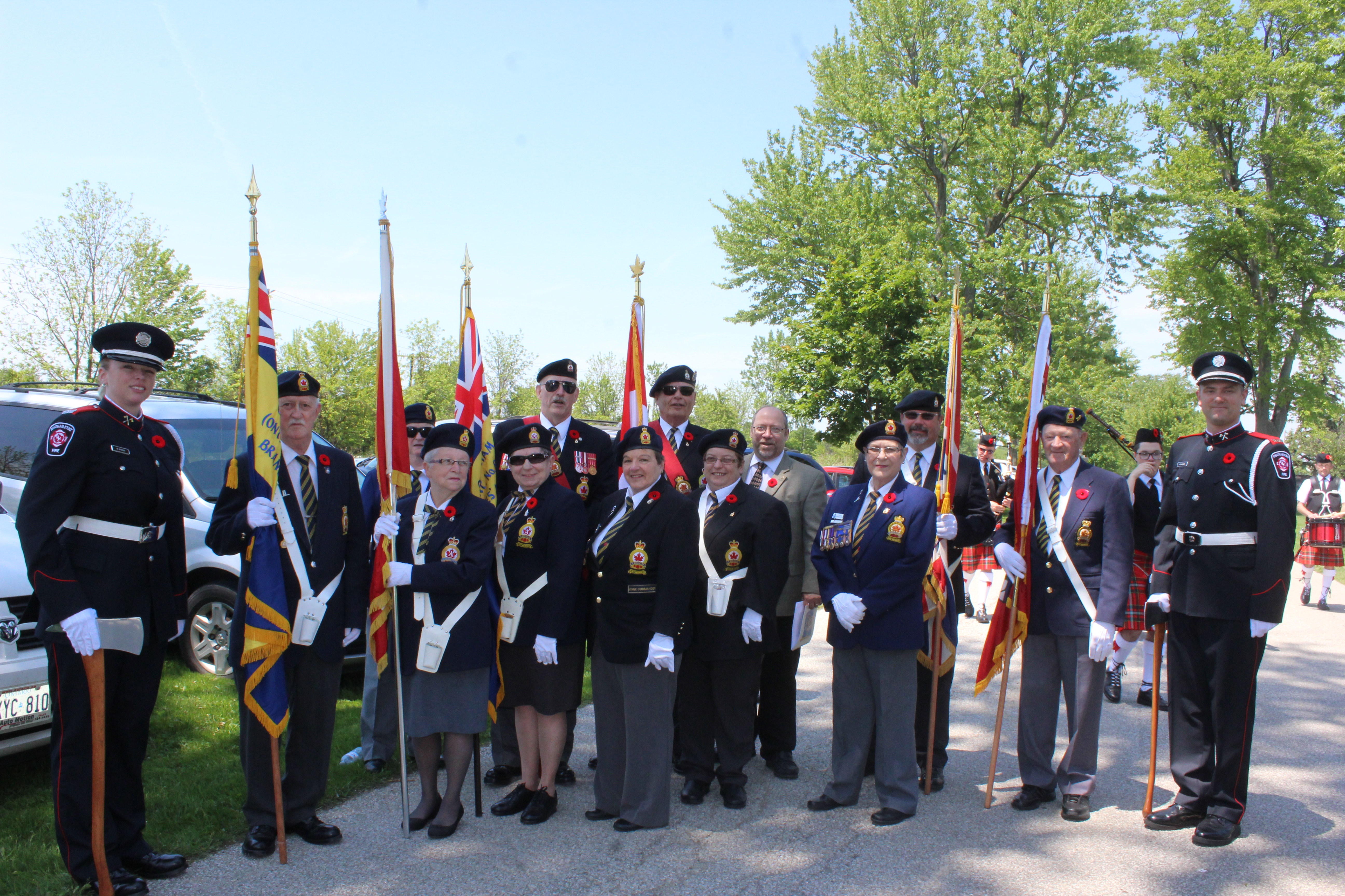 Chatham War Veterans Pay Respects to Fallen Comrades