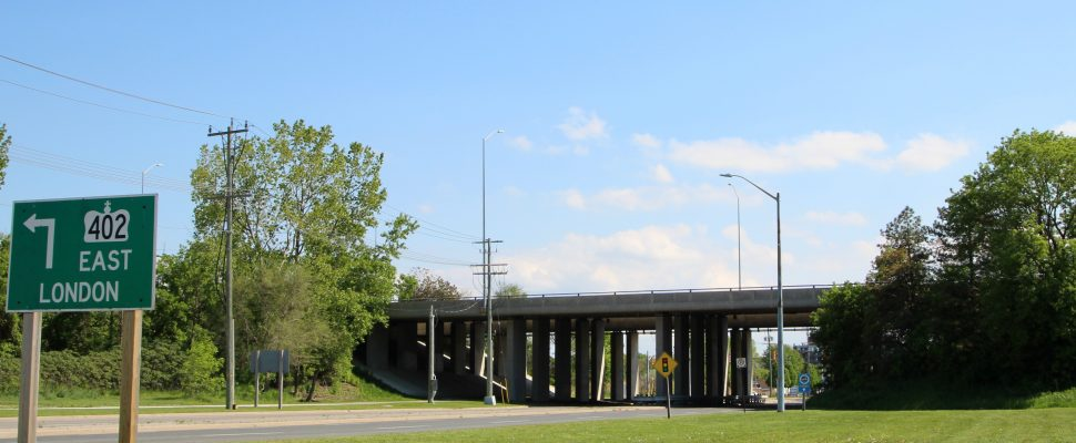 402 Front St. Overpass (BlackburnNews.com file photo May 2017)
