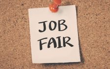 Job fair post it note. (Photo by (© Can Stock Photo / sean824)