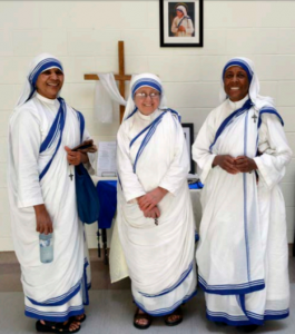 Missionaries of Charity Sisters visting Walkerton's St.Teresa of Calcutta School, Thursday, May 18, 2017.(photo submitted)