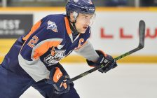 Alex Peters of the Flint Firebirds. Photo by Terry Wilson / OHL Images.