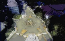 Rendering of the proposed Sandwich Roundabout, provided by Windsor City Council.