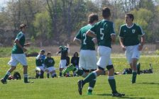 St. Pat's Senior Boy Soccer Team (Photo by Jake Jeffrey)