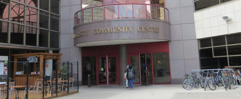 The University Community Centre at Western University . (Photo by Miranda Chant, Blackburn News.)
