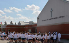 (School Dedication and Blessing Thursday, May 18th at Walkerton's St. Teresa of Calcutta Catholic School. (photo submitted)