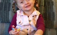 Amber Alert issued for Eva Kaminski. (Photo courtesy of Amber Alert Ontario/via Twitter)