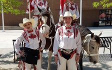 The Canadian Cowgirls. May 27, 2017. (Photo courtesy of the Blackburn Radio Chatham-Kent Summer Road Crew)
