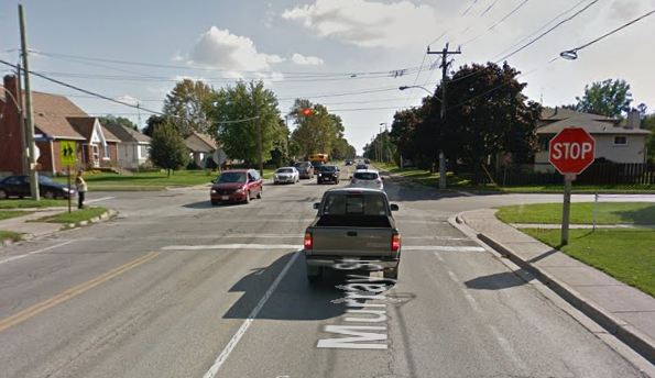 The intersection of Murray St. and Reaume Ave. in Wallaceburg. (Photo courtesy of Google Maps)