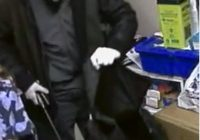 Suspect In Drug Store Robbery - May 24/17 (Photo Courtesy of Sarnia Police)