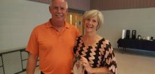 Long-time Foundation of CKHA volunteers, Victoria and Jim Heyninck were presented with Janet Cook Outstanding Volunteer Awards for their generous donation of time and talents. (Photo courtesy of the Foundation of CKHA)