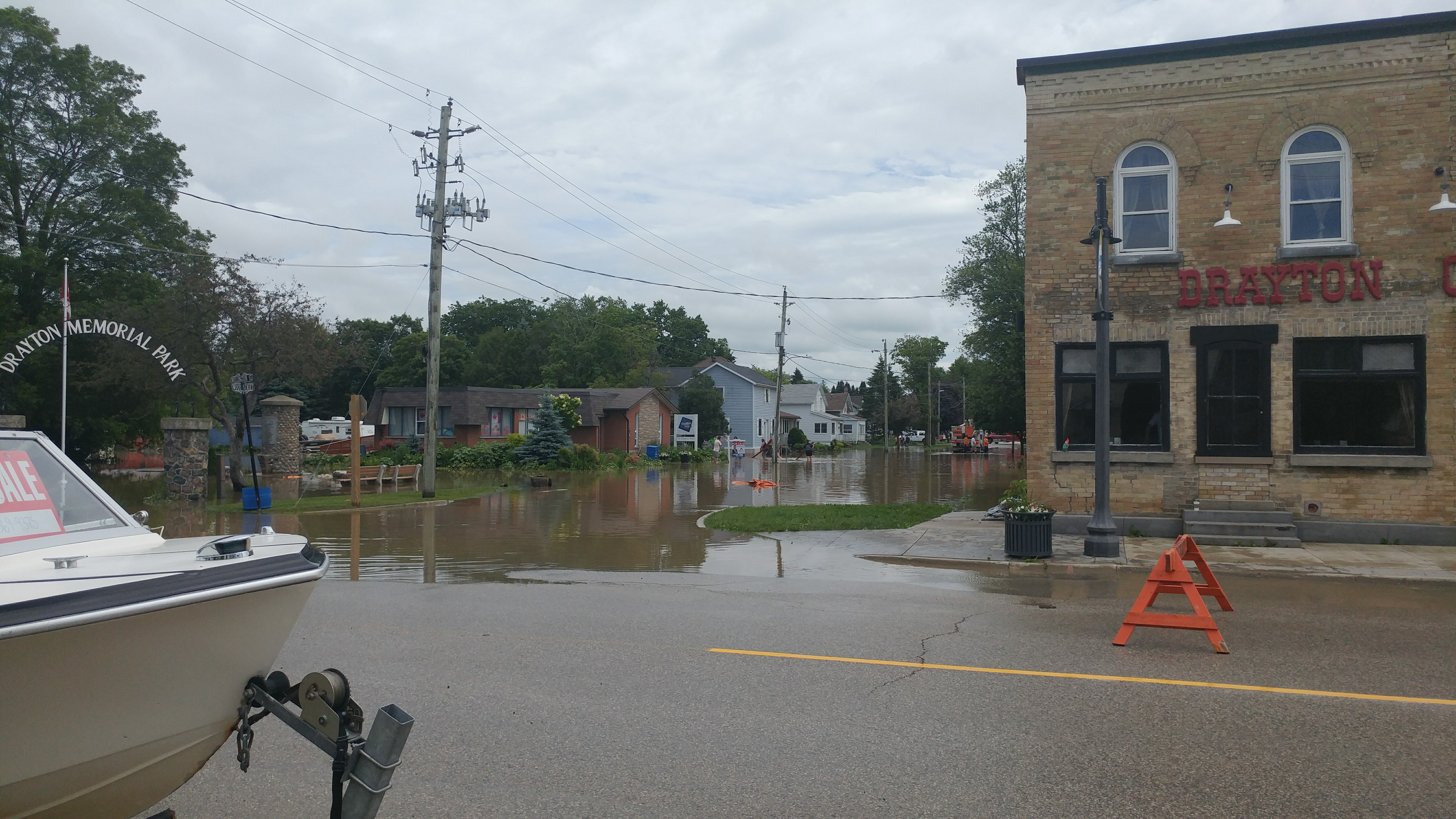 Midwestern Ontario Flooding Beginning To Subside