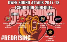 Graphic courtesy of the Owen Sound Attack.