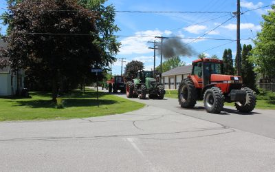 Ridgetown District High School has held its annual Tractor Day Parade. June 8, 2017. (Photo by Paul Pedro)