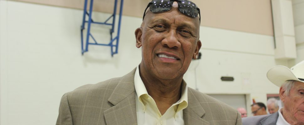 Fergie Jenkins. Breaking the Colour Barrier event. June 10, 2017. (Photo courtesy of Sarah Cowan Blackburn News Chatham-Kent)