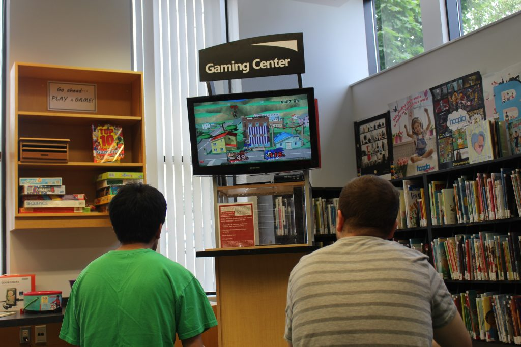 Library Game Centre June 2017