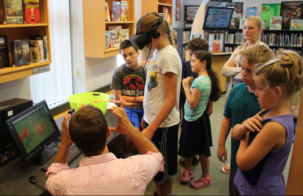 Library Virtual Reality June 2017