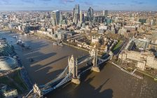 Panoramic view of London, England (Photo courtesy of Wikipedia)