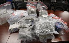 Drugs seized during a search of a home on Villiagewalk Blvd. and another location on Bradley Ave. in London, on June 22, 2017. (Photo courtesy of the London Police Service)