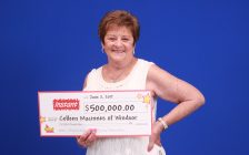 Recent scratch ticket winner Colleen Macinnes, June 14, 2017. (Photo courtesy the Ontario Lottery and Gaming Corporation)