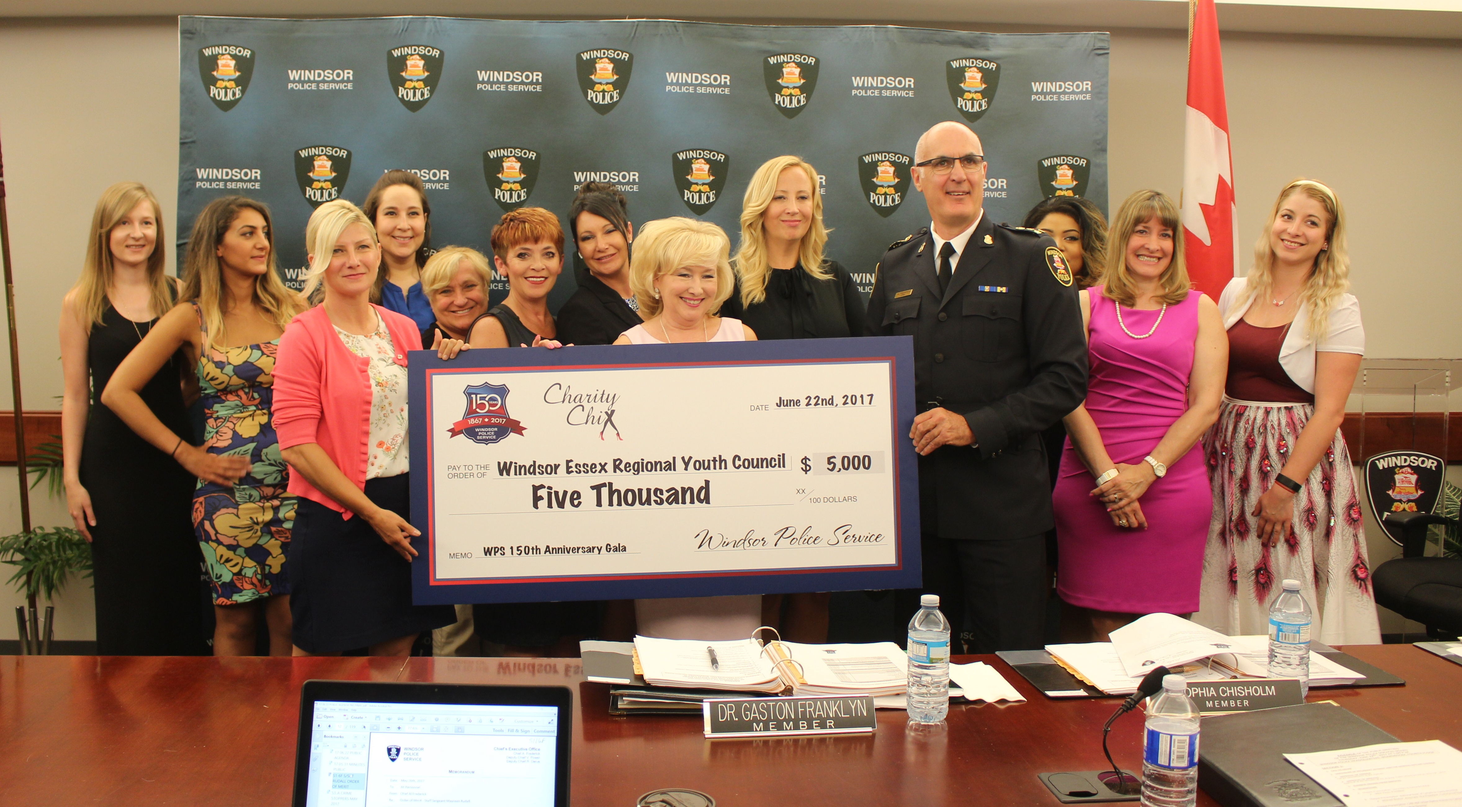 WPS 150th Supports Children's Charities
