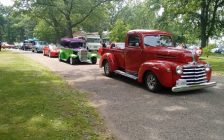 Cruise In The Park (Photo courtesy of the Sarnia Street Machines via Facebook)