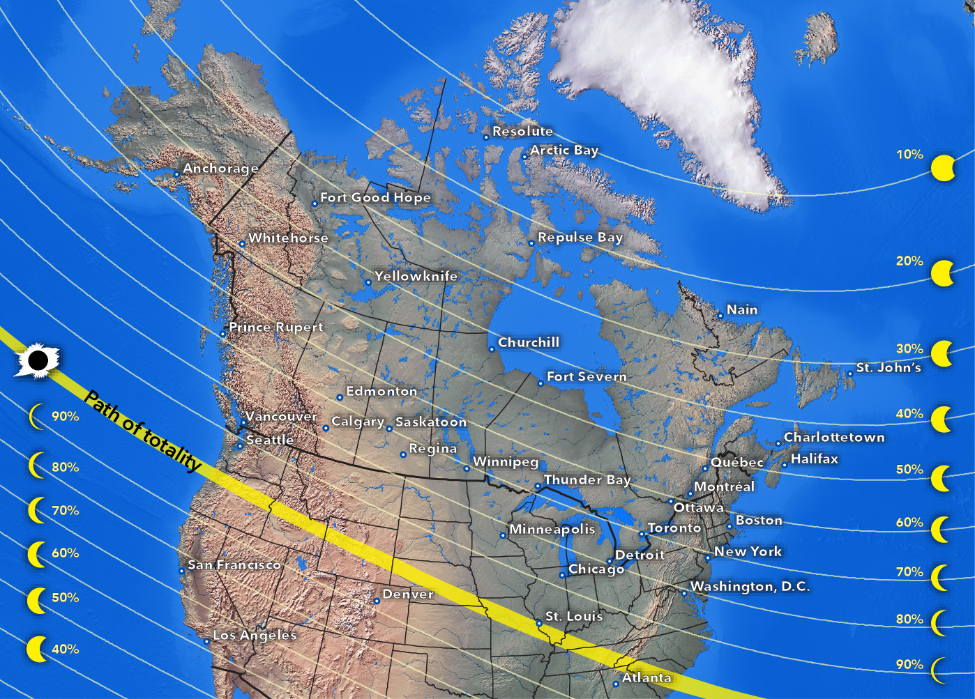 2017 Eclipse Map Partial.Blackburnnews Com Partial Solar Eclipse Expected In Ck