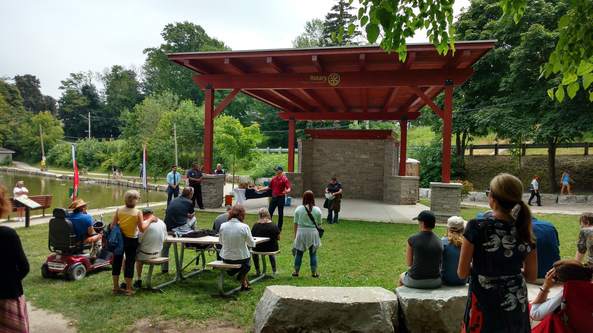 Fairy Lake Restoration Celebrated In Saugeen Shores