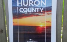 Huron County tourism poster (Photo by Bob Montgomery)