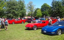 Successful Vette Show in Bayfield. Photo by Bob Montgomery.