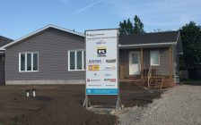 Habitat for Humanity Sarnia-Lambton's latest home build on Scenic Dr. in Watford. June 2017 (Photo by Melanie Irwin)