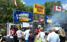 Smokin' Joe's Sarnia Kinsmen Club Ribfest 2017. Photo submitted by Max Major