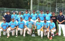 The Sarnia Sr. Braves Win The Lakeside Tournament - July 9/17 (Photo Courtesy of James Grant)