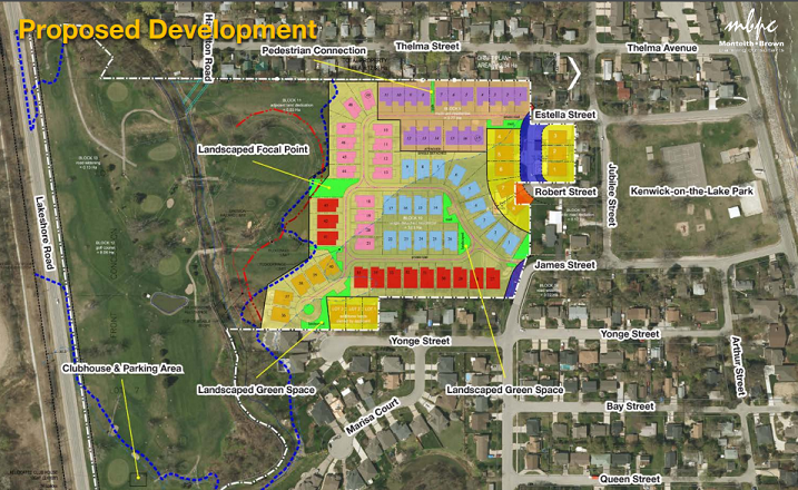 Zoning And Official Plan Amendments Requested For New Subdivision