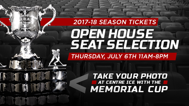 Spits host their annual open house and seat selection day July 6. July 4, 2017. (Photo courtesy of Windsor Spitfires)